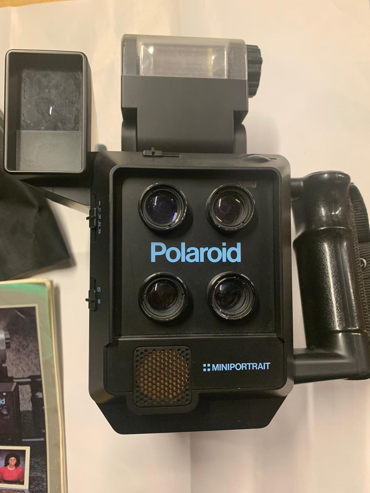Polaroid miniportrait, modello 403