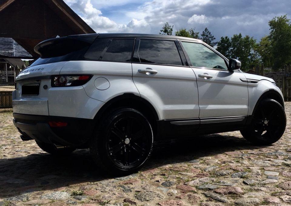 Land Rover Range Rover Evoque Black 2.0i 4x4  201