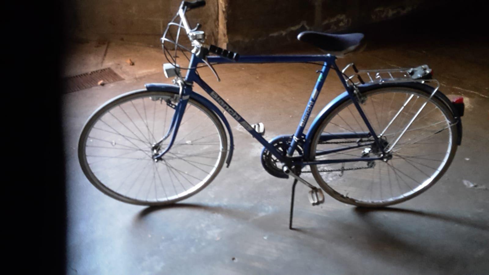 Bicicletta Bianchi Vintage, Spluga 10 V.