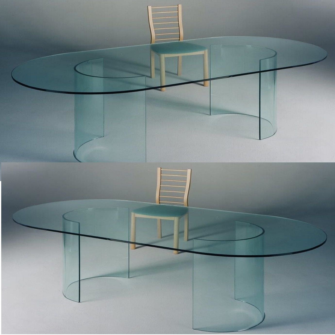 Tavolo kristal Glass